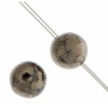 Pyrite 6mm Round 29pcs Approx
